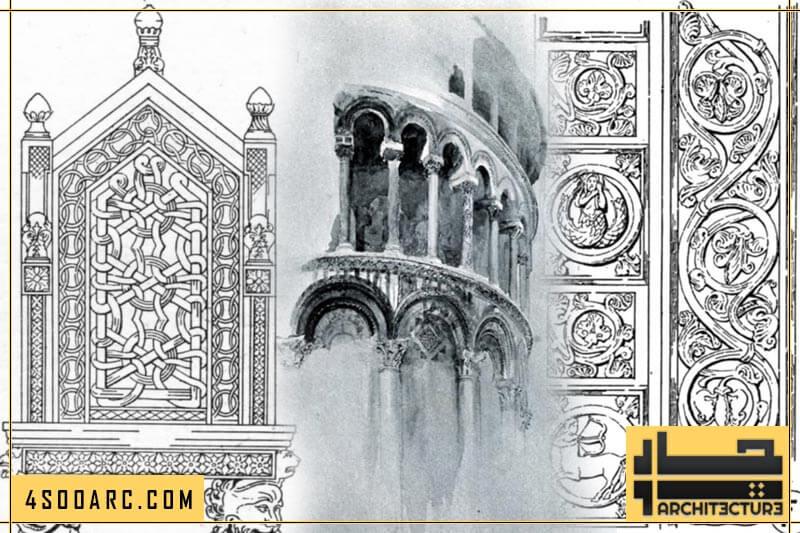 تزئین معماری رمانسک در ایتالیا