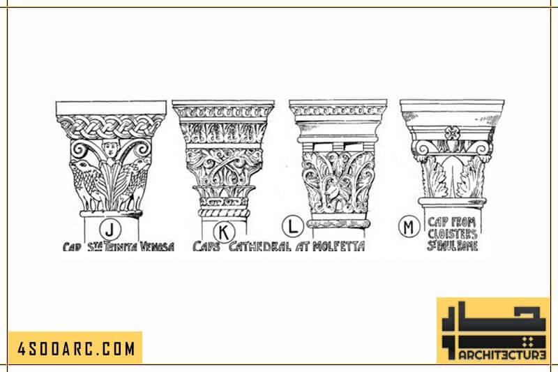 ستون های معماری رمانسک در ایتالیا