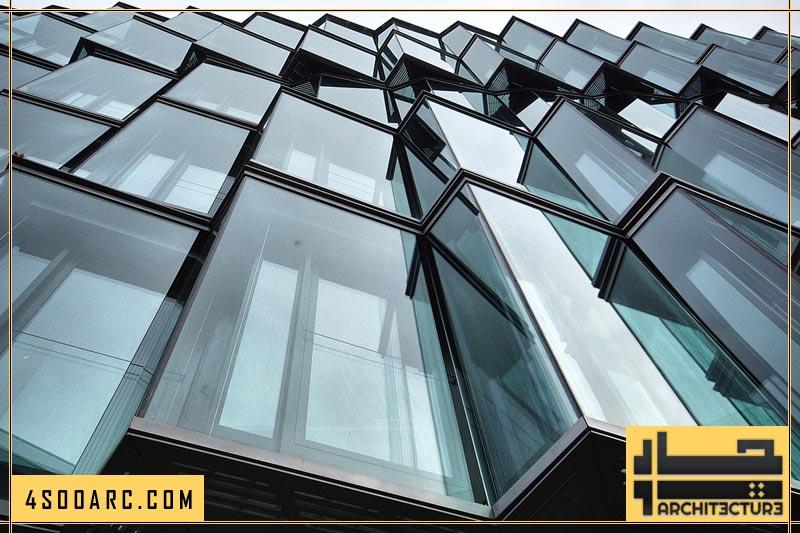 معماری شیشه ای