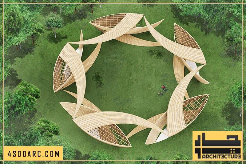معماری طبیعت گرا