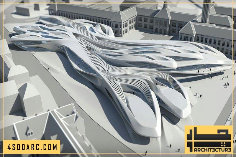 معماری غیر خطی