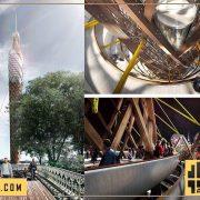 طراحی برج چوبی تصفیه آب