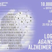 طراحی لوگو بر علیه آلزایمر